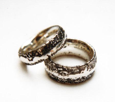 Archetypus • Silber 925, geschwärzt • in Sand gegossen
