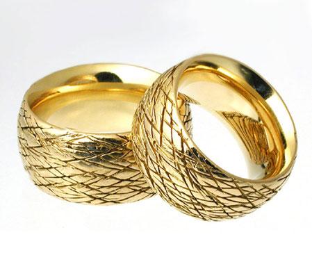 Ringprofile • Gold 750 • Foto: Silvia Makosch