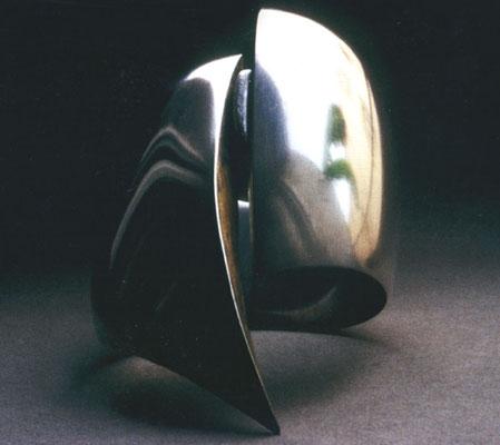 A Garra • Armreif 1991 • Silber, Blattgold