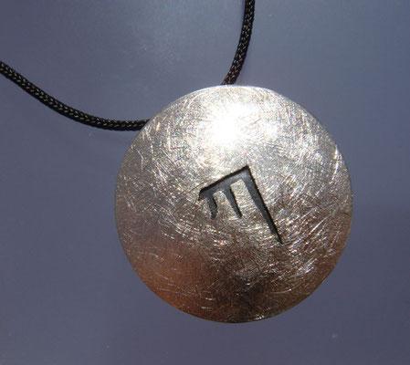 Karmapa KA Ø 22 mm • Silber teils geschwärzt