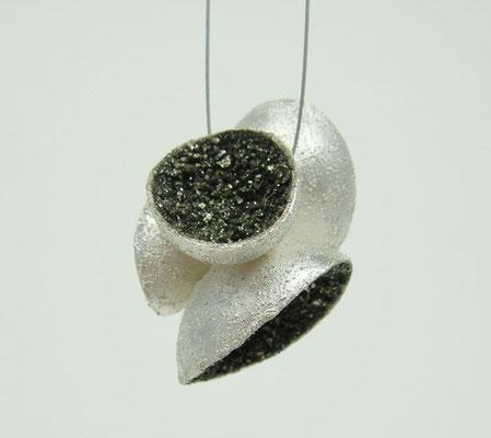 Jewel Cave • Halsschmuck 2013 • Silber, Pyrit, Edelstahl