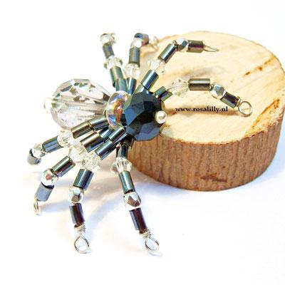 Handgemaakte spin, leuk voor Halloween