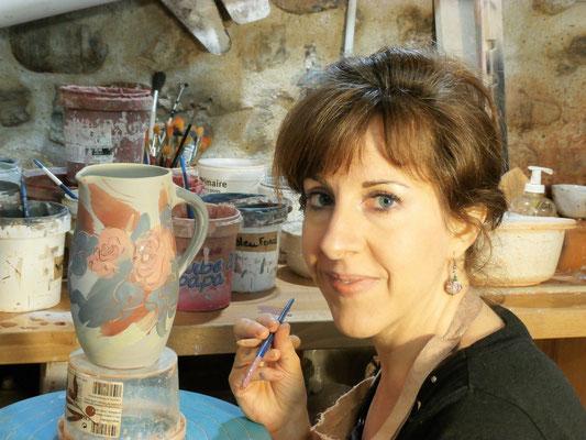 handgemaakte sieraden van keramiek