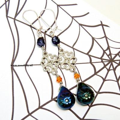 Halloween oorbellen, leuk voor Halloween
