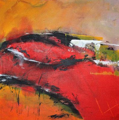 Augenblick II, 40 x 40 cm, Preis auf Anfrage