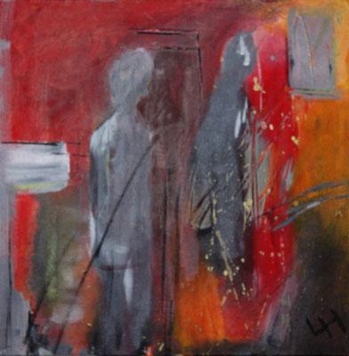 Wartezimmer, , 40 x 40 cm, Preis auf Anfrage