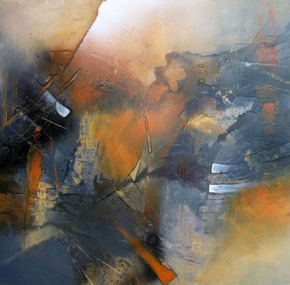 Traumpfade, 100 x 100 cm, Preis auf Anfrage