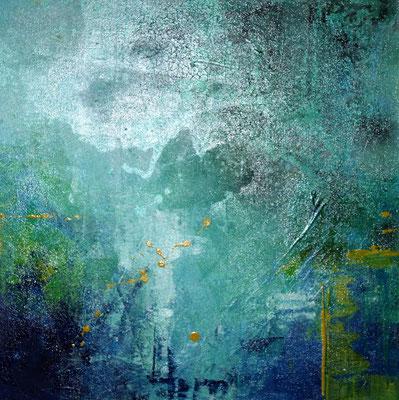Wasserfall,  50 x 50 cm, Preis auf Anfrage