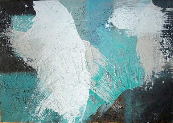 Eisschollen, 70 x 100 cm, Preis auf Anfrage