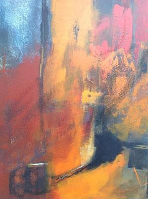 Spaziergang im Licht, 80 x 60 cm, Preis auf Anfrage