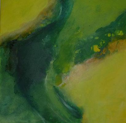 Im See, 50 x 50 cm, Preis auf Anfrage