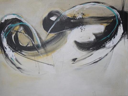 Mit Schwung, 50 x 70 cm, Preis auf Anfrage