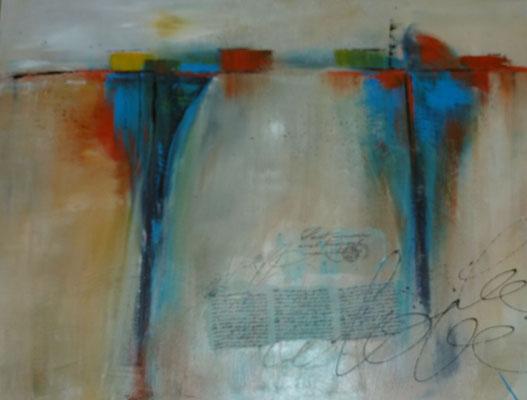 Spiegelungen, 60 x 80 cm, Preis auf Anfrage