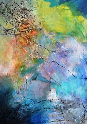 In der Lagune, 90 x 70 cm, Preis auf Anfrage