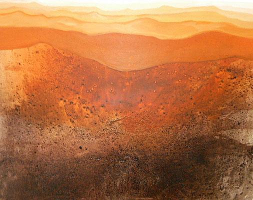 Wüste,  80 x 100 cm, Preis auf Anfrage
