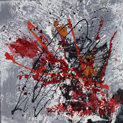 Schneeblumen, 40 x 40 cm, Preis auf Anfrage