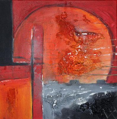 Sonne des Südens II, 50 x 50 cm, Preis auf Anfrage