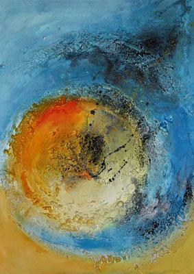 Der Sonne entgegen, 70 x 50 cm, Preis auf Anfrage