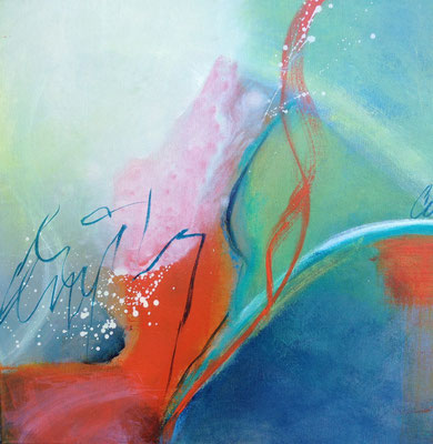 Frühlingserwachen, 50 x 50 cm, Preis auf Anfrage