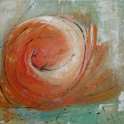 Die Welle, 50 x 50 cm, Preis auf Anfrage