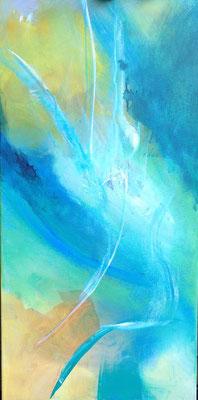 Sanfter Wind, 80 x 40 cm, Preis auf Anfrage