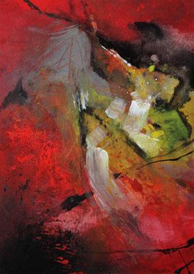 Paradiesvogel, 80 x 60 cm, Preis auf Anfrage
