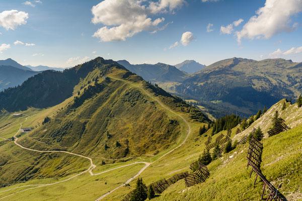 Blick von der Bergstation Kanzelwand