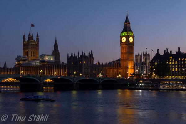 Houses of Parliament, London 2016