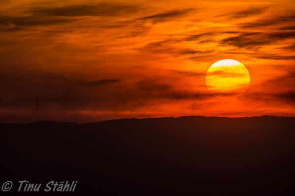 Sonnenuntergang, Gibelegg