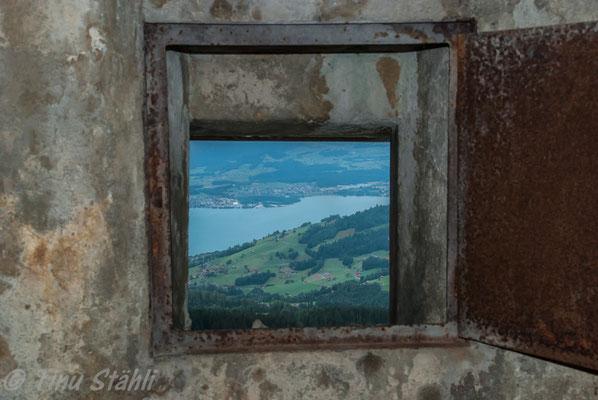 Blick auf das Kanderdelta, Thunersee