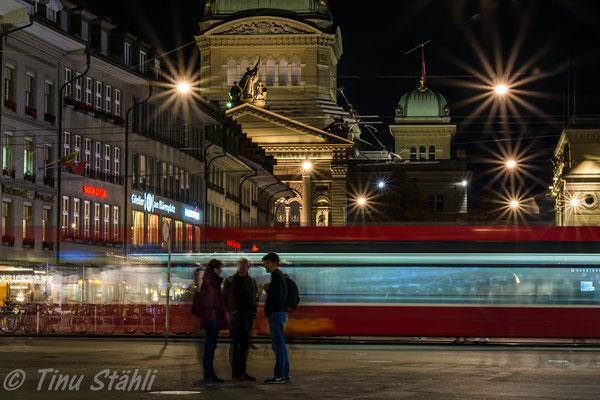 Bern, Bundeshaus, Berner Tram