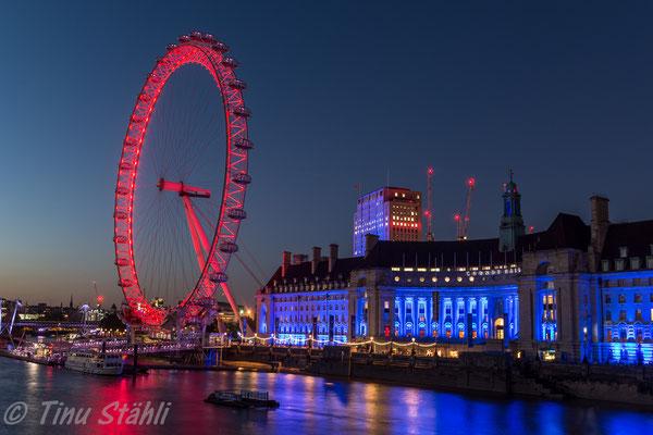 London Eye, London 2016
