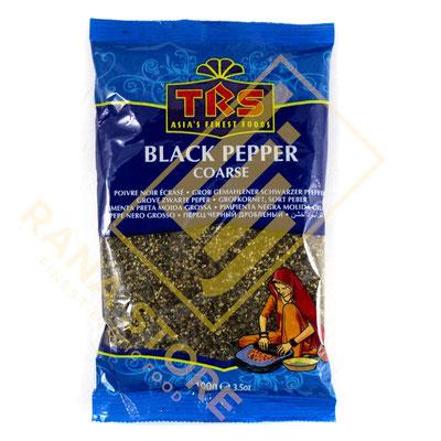 Coarse Black Pepper Schwarzer Pfeffer gestampft