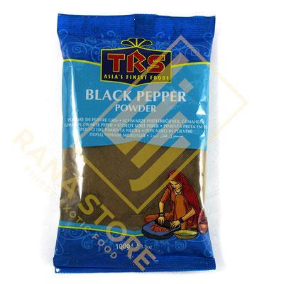 Black Pepper Powder Schwarzer Pfeffer gemahlen