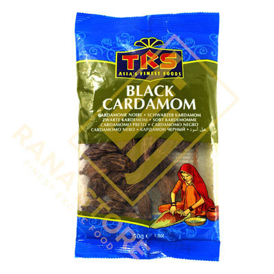 Black Cardamom Schwarze Kardamom Elaichi