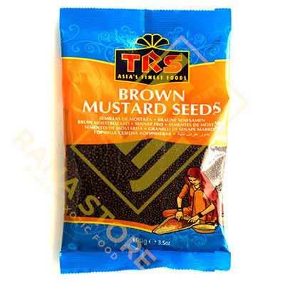 Brown Mustard Seeds Braune Senfsamen