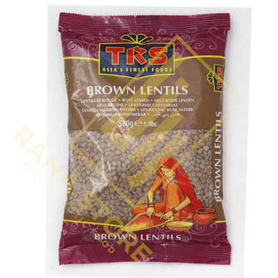 Masoor Whole Brown Lentils Braune Linsen