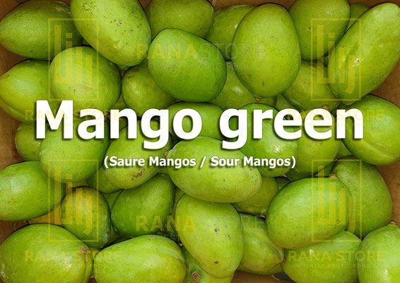 Mango green (Saure Mangos)