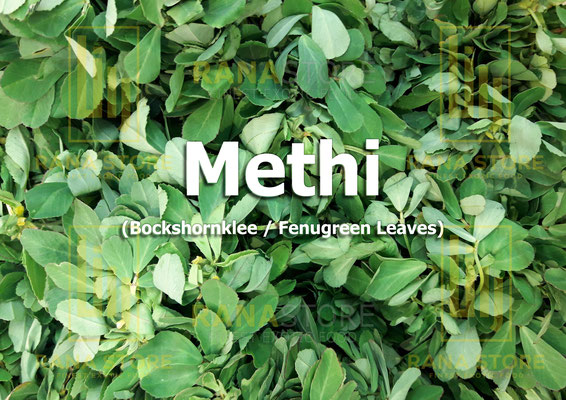 Methi (Bockshornklee / Fenugreek Leaves)