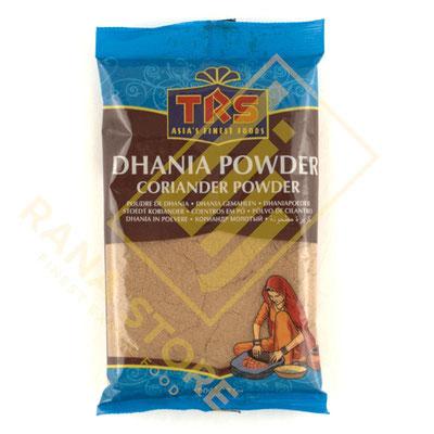 Dhaniya Powder Coriander Powder Koriandersamen gemahlen