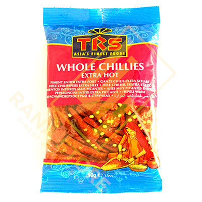 Whole Chillies Chili ganz