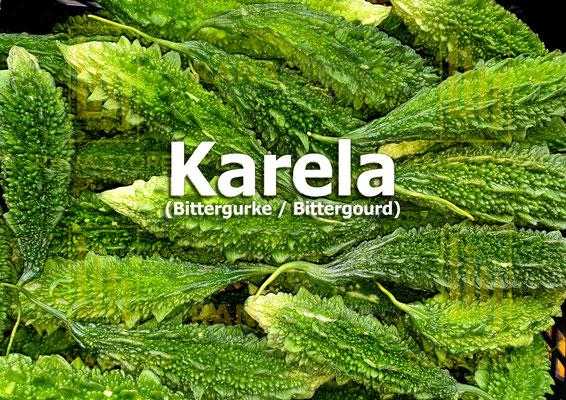 Karela (Bittergurke / Bittergourd)