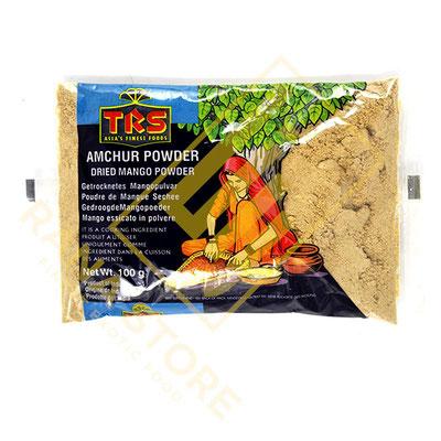 Amchur Powder Getrocknete Mango Pulver