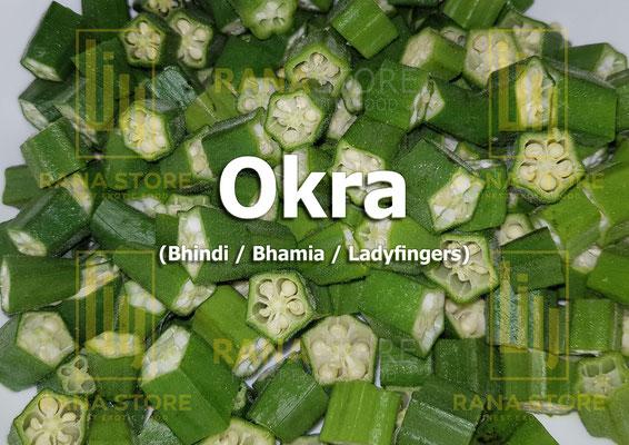 Okra (Bhindi / Bhamia / Ladyfingers)