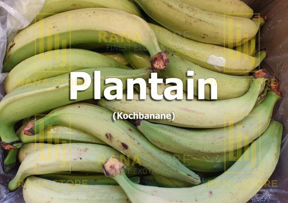 Plantain (Kochbananen)