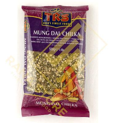 Mung Dal Chilka Moong Mungo Bohne halbiert mit Schale