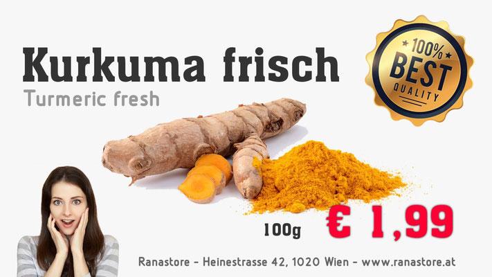Turmeric € 1,99 je 100g Kurkuma Haldi fresh frisch