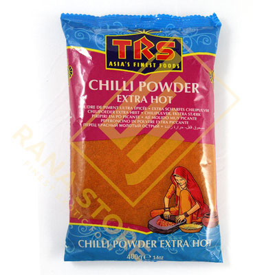 Chilli Powder Extra Hot Chili Pulver gemahlen extra scharf