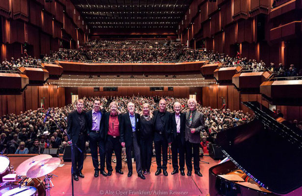 Barrelhouse Jazzband in der ausverkauften Alten Oper Frankfurt