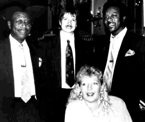 Lady Bass & The Real Gone Guys (Tommie Harris, Dirk Raufeisen, Ron Ringwood, L.H.) - meine erste Band